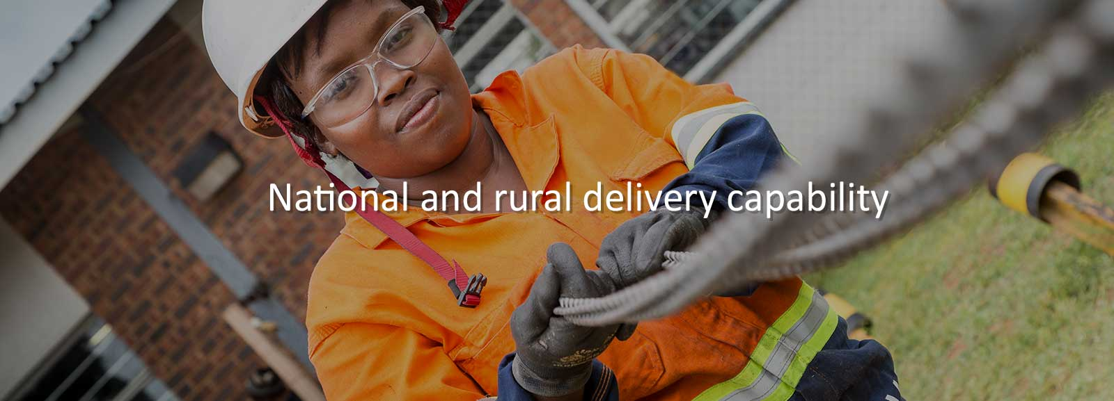 National And Rural Delivery Capability